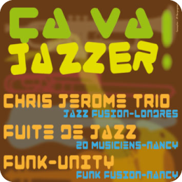 Affiche d'un spectacle de jazz
